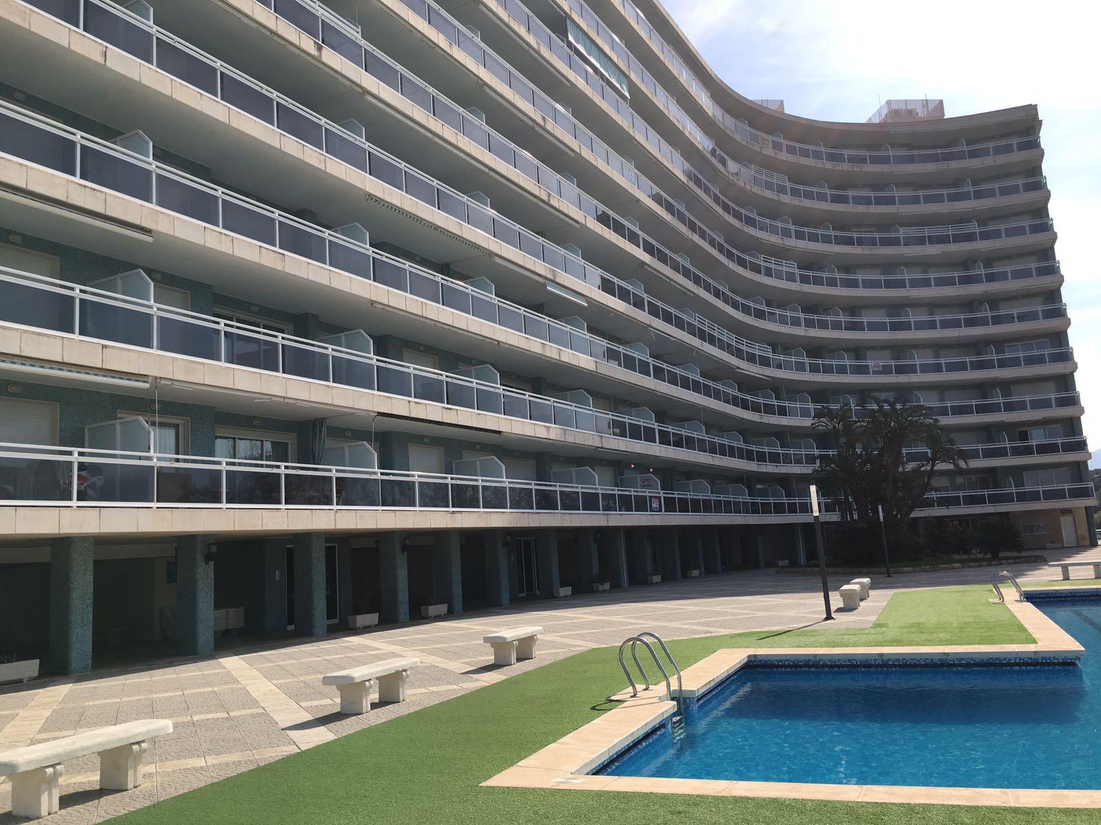 Alquiler de apartamento en playa Gandía - Primera Linea de playa