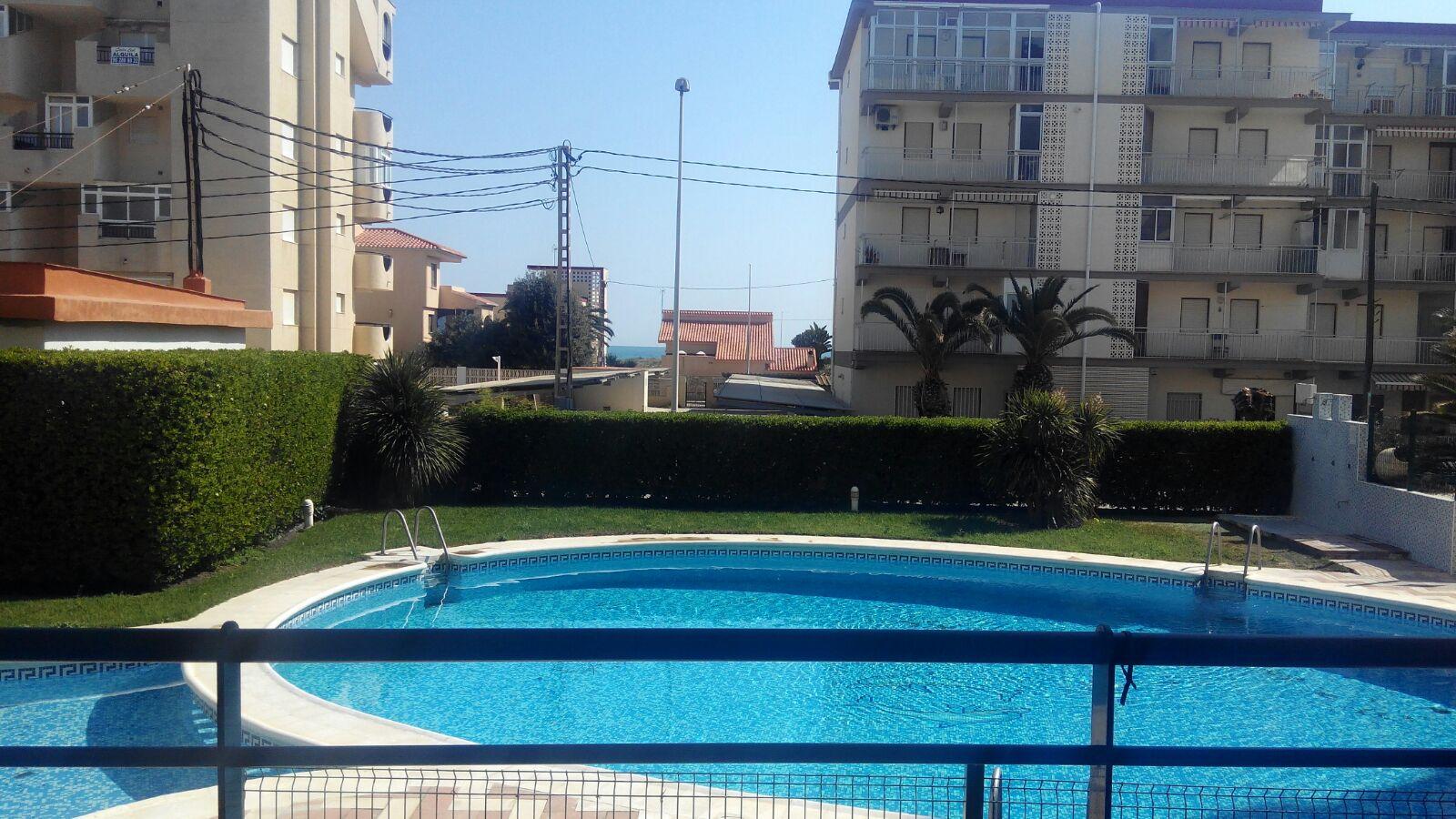Apartamento de 3 habitaciones en playa de Xeraco - Pascual