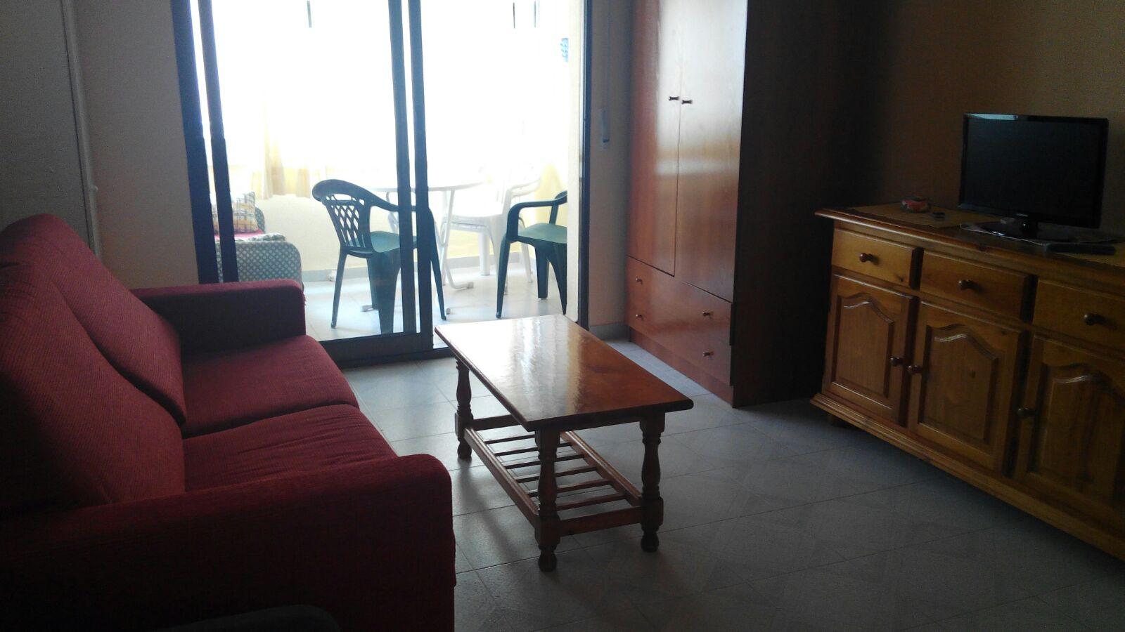 Alquiler de apartamento en la Playa de Gandía-Estudio.